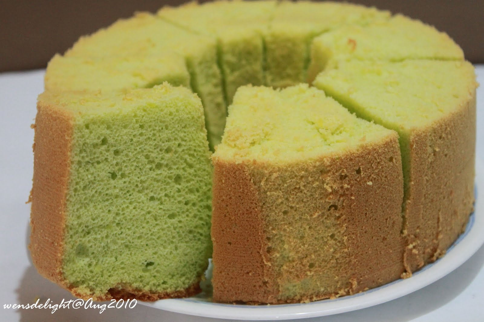 Best pandan chiffon cake singapore recipe