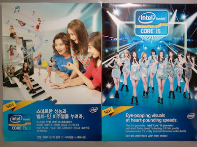 SNSD promo for Intel endorsement