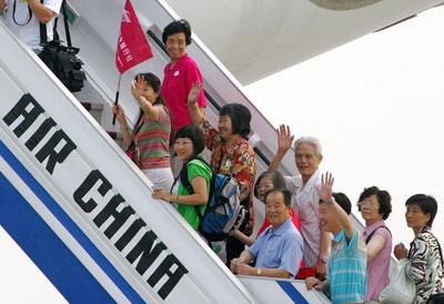 Ristabiliti i collegamenti aerei tra Taiwan e la Cina