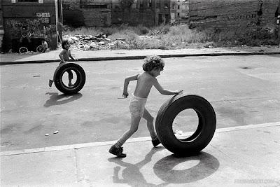 Martha Cooper x Obey 'Street Play' Collection  Original Photos