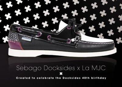 Sebago Docksides x La MJC at Colette