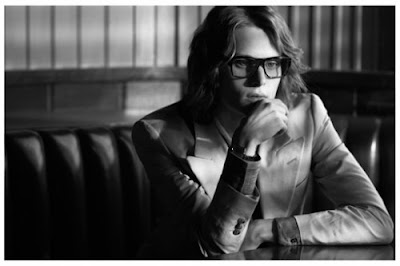 Tomek as YSL by Camilla Akrans for Man About Town