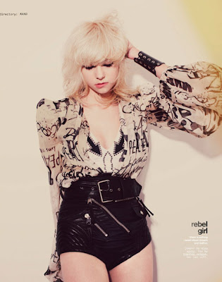 Taylor Momsen by Guy Aroch for Nylon Magazine May 2009