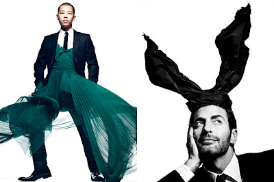 Jason Wu  and Marc Jacobs for CFDA Awards by Craig McDean