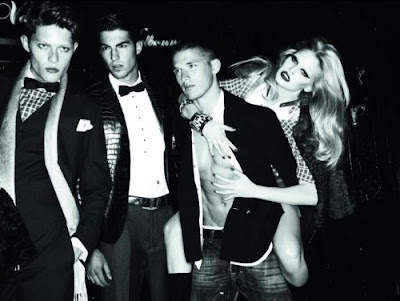 DSquared2 Fall 2009 by Mert Alas and Marcus Piggott