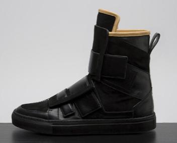 Kris Van Assche Panneau Sneakers