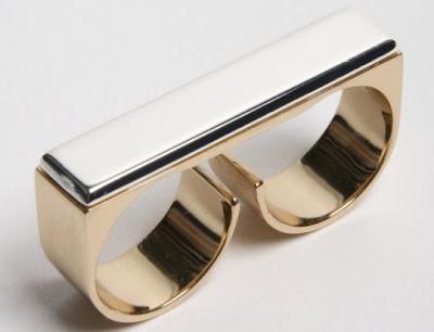 Martin Margiela Two-Figer Ring