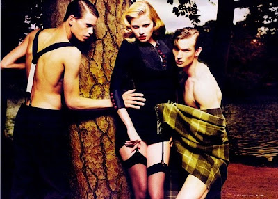 Mert Ala and Marcus Piggott for W Magazine September 2009