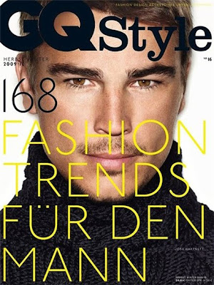 Josh Hartnett on the Cover of German GQ Fall 2009