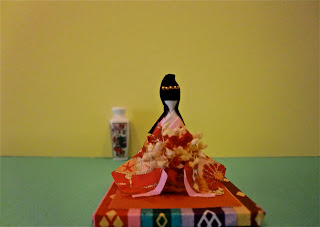 Geisha en miniatura