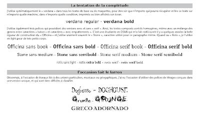 typographie machine a ecrire