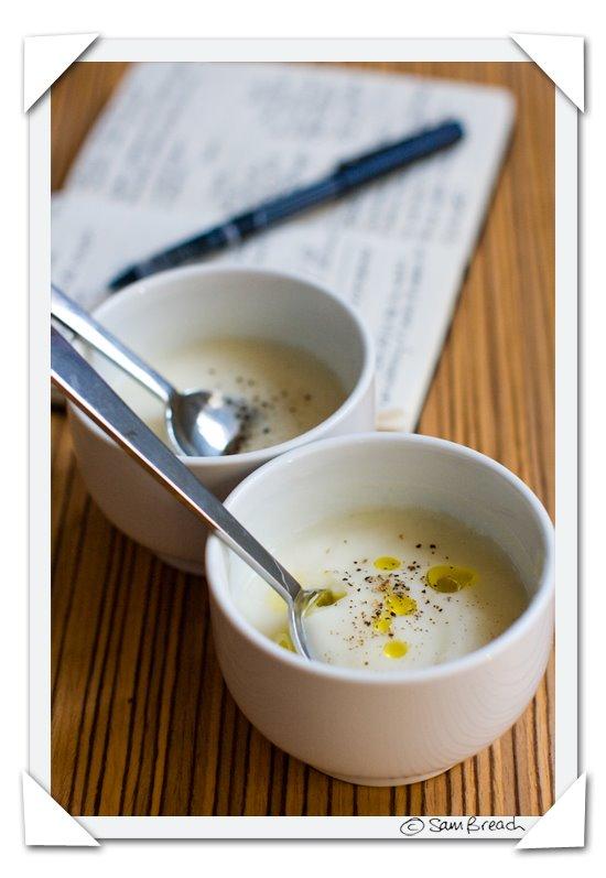 inspired cauliflower soup v paul bertolli style causliflower soup ...