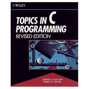 Stephen G. Kochan, Patrick H. Wood: Topics in C Programming