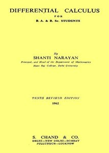 Differential Calculus by Shanti Narayan - Download link