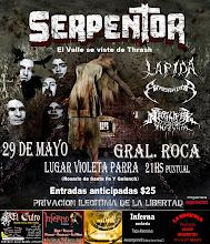 29/05 SERPENTOR Y LAPIDA JUNTOS