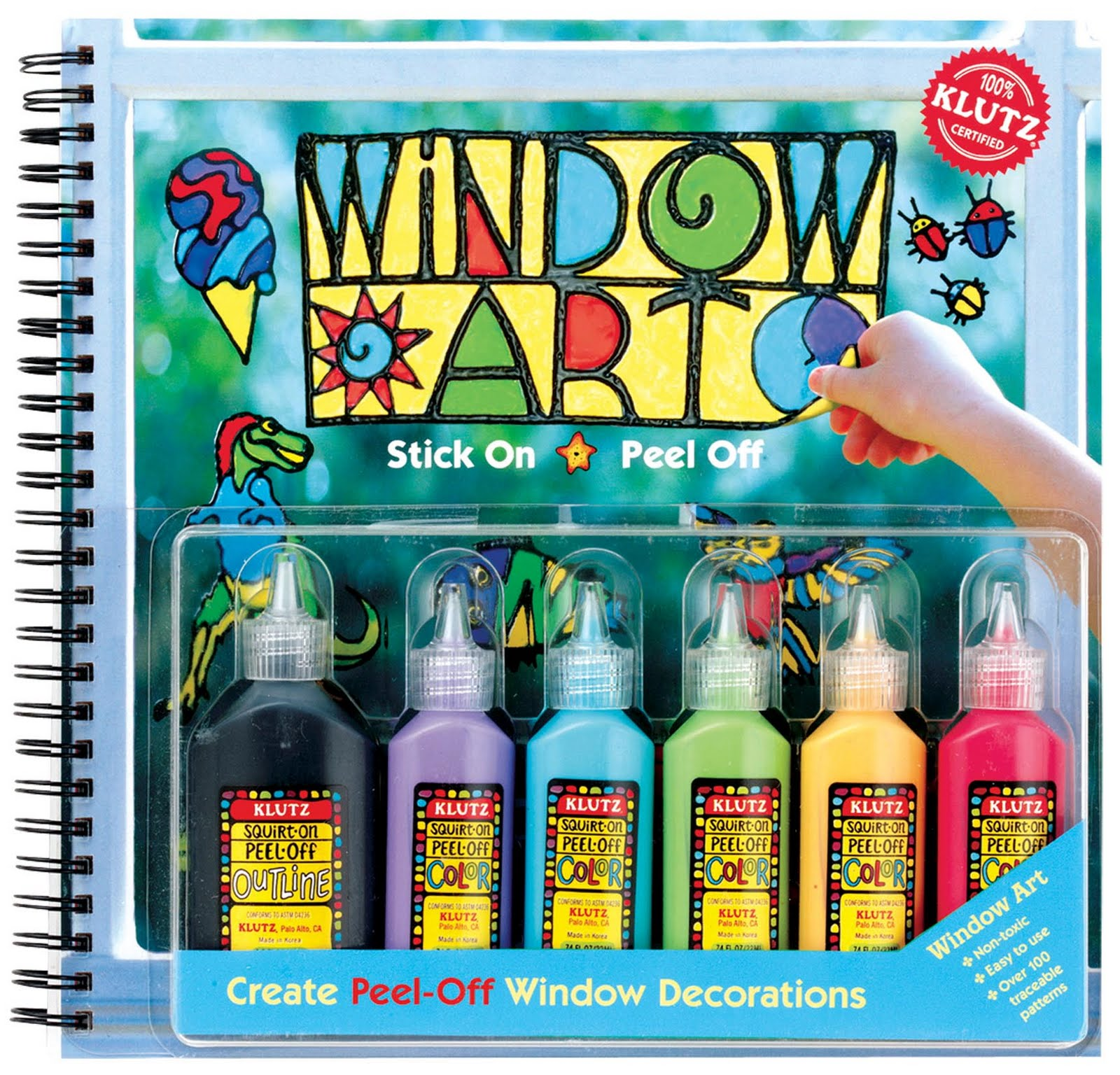 Window Art Paint Klutz