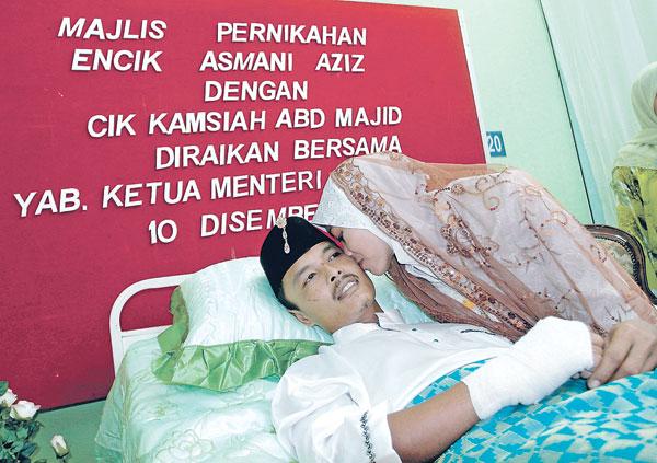 Suami Isteri Tentunya Majlis Akan Dilangsungkan Walaupun Hospital