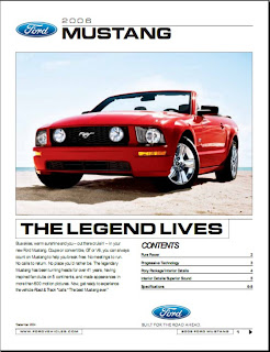 2006 Ford Mustang brochure