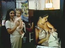 Erica y Valentina modelos de la obra El Milagro
