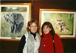 Con Sandra Guillen, organizadora, curadora, artista y amiga