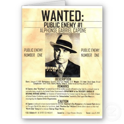 Are you smarter than matt answer criminals capone was always conscious of his public image even going so far as to hire a publicist at one point his business cards listed his profession as a used colourmoves