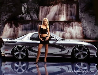 Sports Car Hot Girls