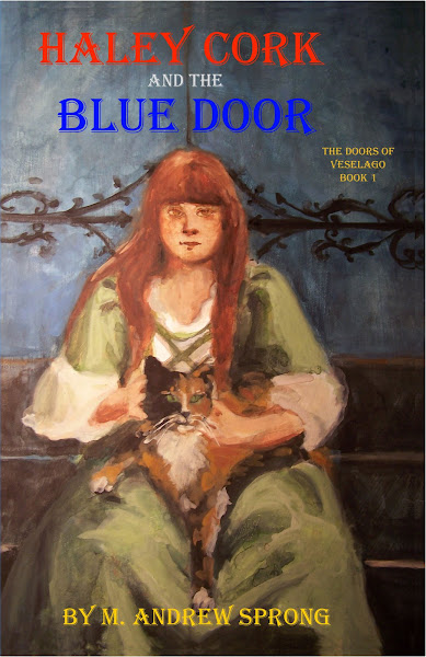 Haley Cork and the Blue Door