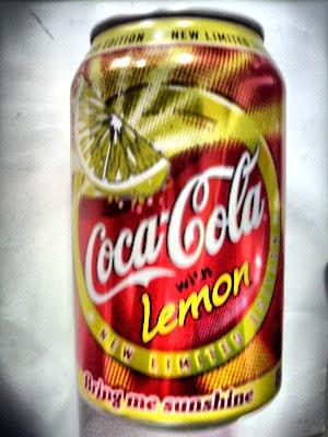 Coca cola lemon