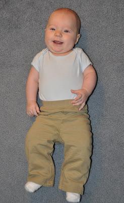 Nolan at 4 months