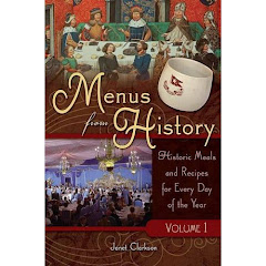Menus from History.
