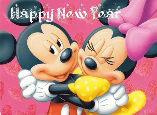happy new year wishes by disney