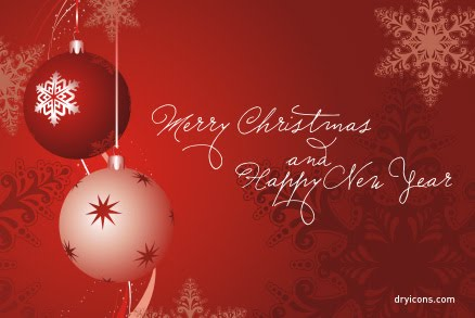 New Year Cards: Merry Christmas N Happy New Year Wish Cards