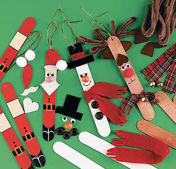 manualidad navideña niños