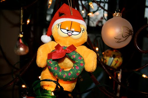 Garfield and Oddie Christmas Wallpapers