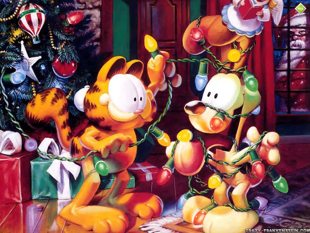 Garfield Christmas Wallpaper