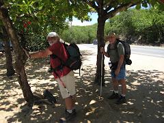 Julio y Pablo en Vacia Talega