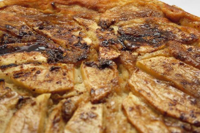 receta de cómo hacer tarta de manzana humeda
