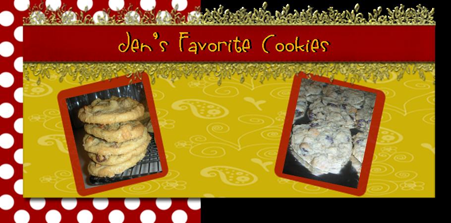 Jen's Favorite Cookies