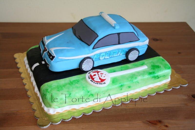Le Torte Di Applepie Torta Volante Della Polizia