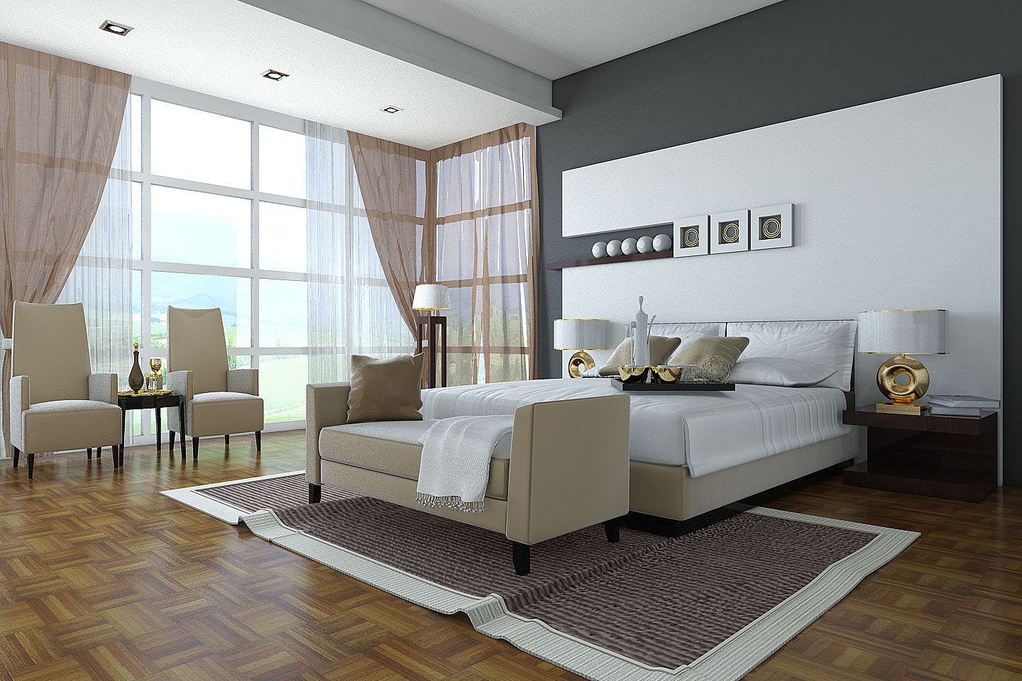My home design bedroom design 2011 for Beautiful bedrooms for couples