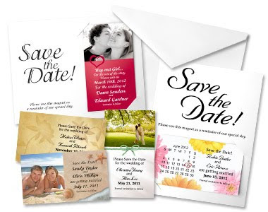 Flash Moments Save the Date Magnets