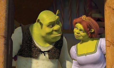 Blogger of the Bride: Overlooked wedding attire - Shrek and Fiona