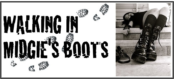 Walking in Midgie's Boots