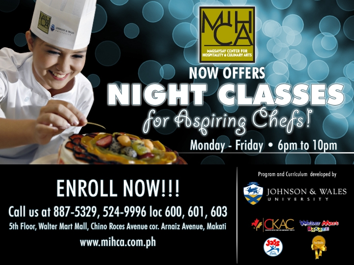 culinary school  magsaysay center for hospitality and