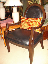 Leather Accent Chair In Stock