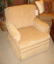 Club Chair in Tan