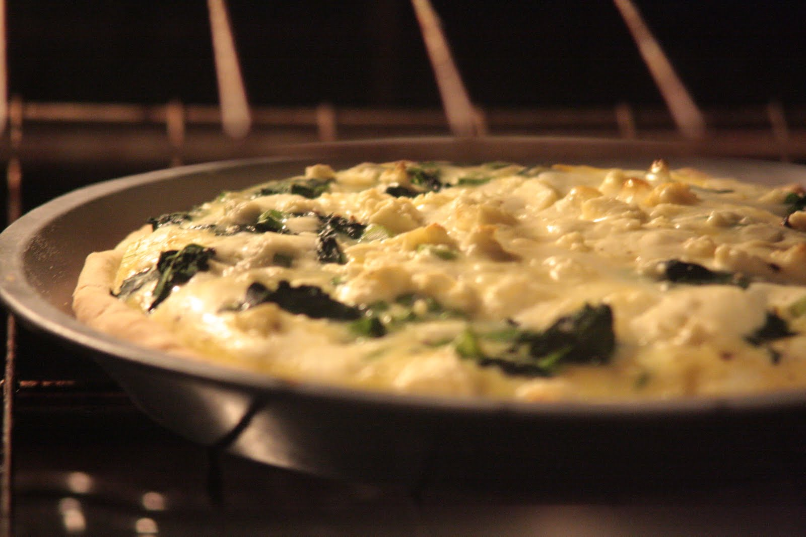 Pregnant AGAIN: Spinach, Asparagus and Feta Quiche