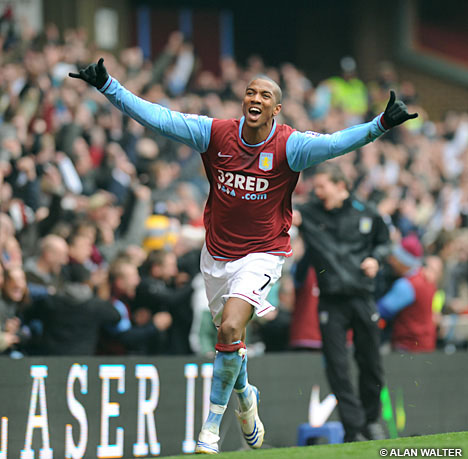 ... today that Manchester United are chasing Aston Villa ace Ashley Young.