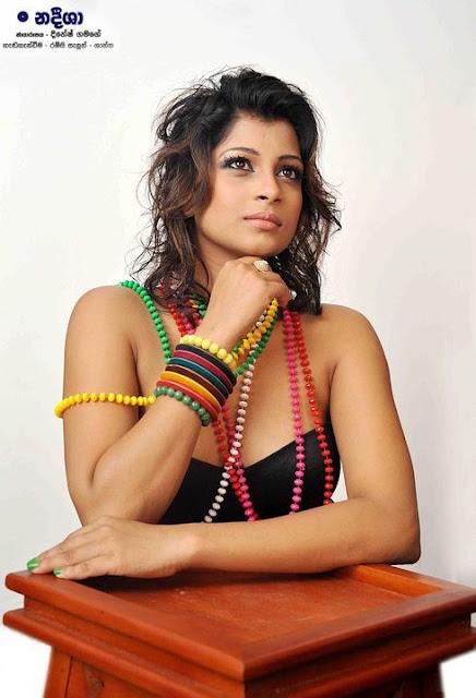 Naddesha Hemamali Sexy Photos