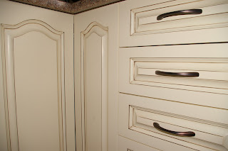 Affenhaus design repainted kitchen cabinets for Can kitchen cabinets be repainted